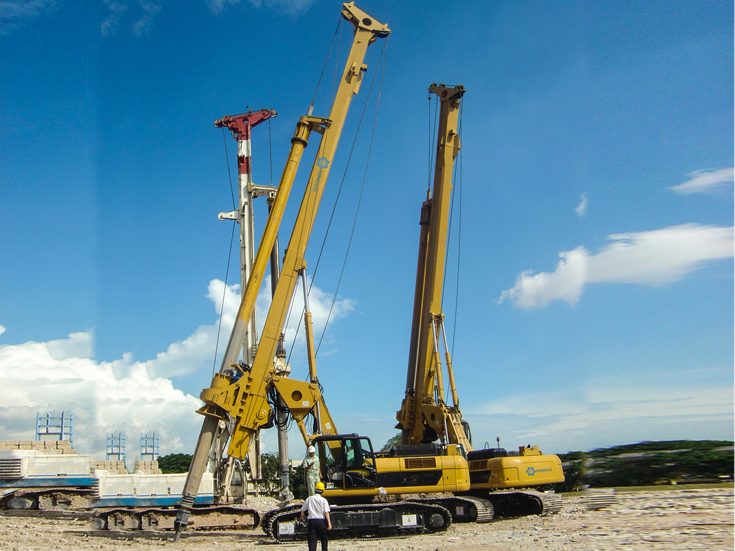 Rotary Drilling Rigs Rig With Air Consumed