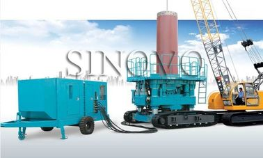 High Safety Casing Rotator No Vibration For General Soil Layer