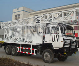 SNR-1000C Waterwell Drilling Rig Drilling Capacity Aperture 500mm Depth 1000m